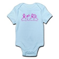 Sparring, better than therapy Infant Bodysuit