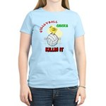 VOLLEYBALL CHICKS Women's Light T-Shirt