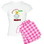 VOLLEYBALL CHICKS Women's Light Pajamas