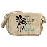You Had Me at SPA Messenger Bag