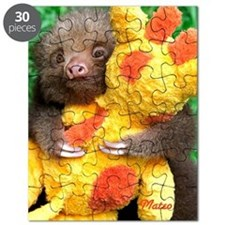 Mateo and His Giraffe - Baby Sloth Puzzle