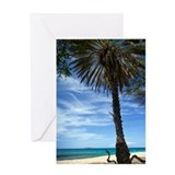 Cute Hawaiian Greeting Card