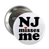 "new jersey misses me 2.25"" Button"