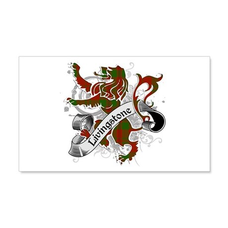 Livingstone Tartan Lion 20x12 Wall Decal