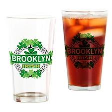 Brooklyn Irish Drinking Glass