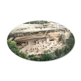 Mesa Verde National Park 22x14 Oval Wall Peel