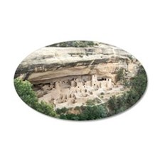 Mesa Verde National Park 38.5 x 24.5 Oval Wall Pee
