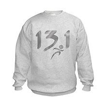Silver 13.1 half-marathon Sweatshirt