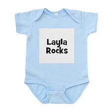 Layla Rocks Infant Creeper