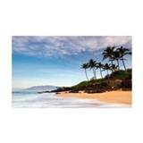 Hawaii Beach Sunrise 38.5 x 24.5 Wall Peel