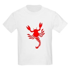Red Scorpion Design T-Shirt