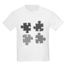 Chrome Puzzle Pieces T-Shirt