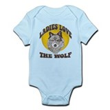 Ladies Love the Wolf Onesie