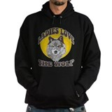 Ladies Love the Wolf Hoodie