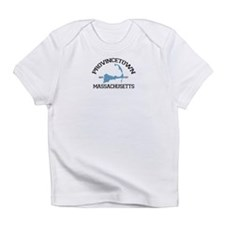 Provincetown MA - Varsity Design. Infant T-Shirt