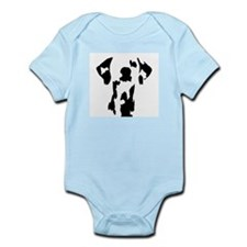 Cute Animal silhouette photo Infant Bodysuit