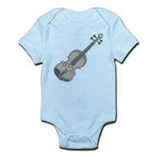 Blue Violin Onesie