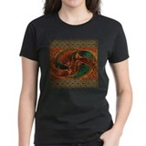 Harvest Moon's Dueling Dragons Womens Dark T-Shirt