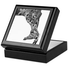 Giraffe and Calf Keepsake Box
