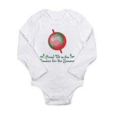 Axial Tilt is the Reason Long Sleeve Infant Bodysu