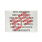 Equal Rights Void Rectangle Magnet