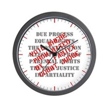 Equal Rights Void Wall Clock
