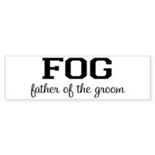 Father of the Groom Bumper Bumper Sticker