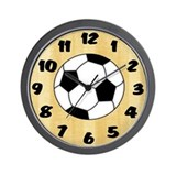 Soccer Wall Clock