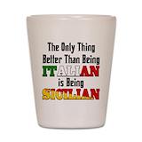 Italy Shot Glasses