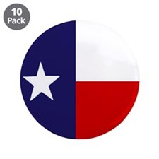 "Texas State Flag 3.5"" Button (10 pack)"
