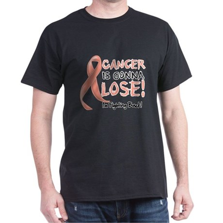 Uterine Cancer is Gonna Lose Dark T-Shirt
