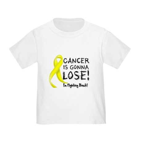 Testicular Cancer Gonna Lose Toddler T-Shirt