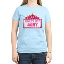 Aunt Gift (Worlds Best) T-Shirt