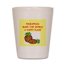 pineapples Shot Glass