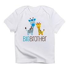 Giraffe Big Brother Infant T-Shirt