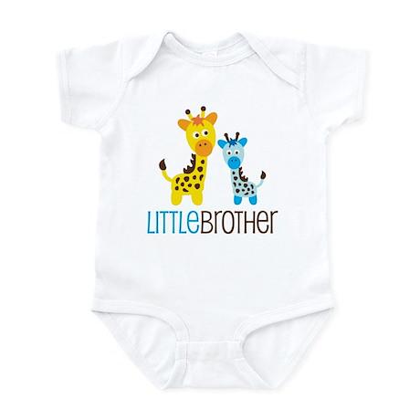 Giraffe Little Brother Infant Bodysuit