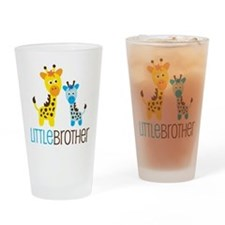 Giraffe Little Brother Drinking Glass