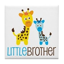 Giraffe Little Brother Tile Coaster