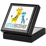 Giraffe Little Brother Keepsake Box