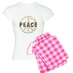 Distressed Peace Women's Light Pajamas