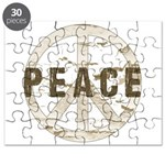 Distressed Peace Puzzle