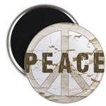 Distressed Peace Magnet