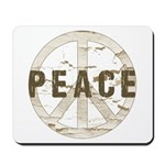 Distressed Peace Mousepad