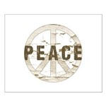 Distressed Peace Small Poster