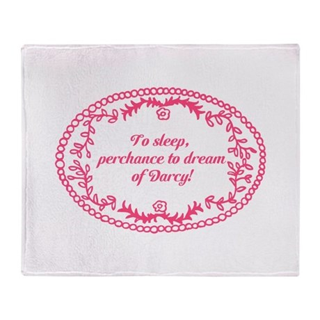 Dreaming of Darcy Throw Blanket