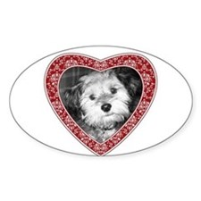 ADD PHOTO - heart frame Decal