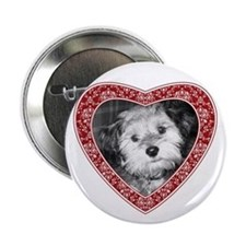 "ADD PHOTO - heart frame 2.25"" Button"