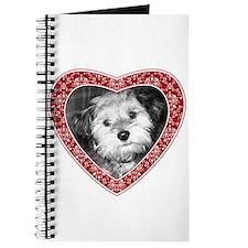 ADD PHOTO - heart frame Journal