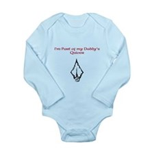 Daddy's Quiver Long Sleeve Infant Bodysuit
