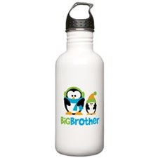 2 Penguins Big Brother Water Bottle